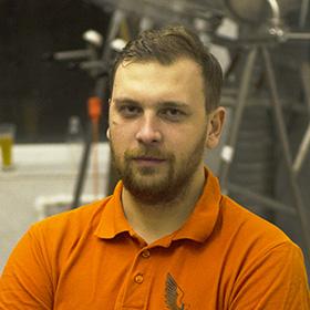 Павел Прыгунов — технолог пивоварни Flugel