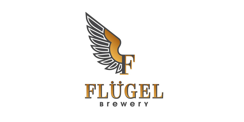 Логотип пивоварни Flugel