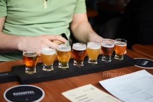 Дегустация Lis Brew. Презентация сырного и грибного пива., фотография №6