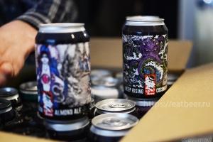 Дегустация Lis Brew. Презентация сырного и грибного пива., фотография №13