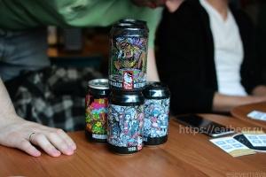 Дегустация Lis Brew. Презентация сырного и грибного пива., фотография №25