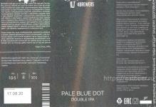 Этикетка пива Pale Blue Dot от пивоварни 4BREWERS. Изображение №2 (фото: Андрей Атаевв)